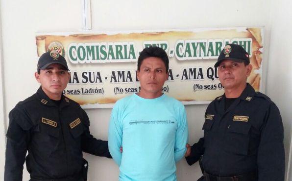 Detenidos en San Martín (Foto: WhatsApp El Comercio)