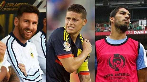 Copa América Centenario: Rezamos por sus máximas estrellas