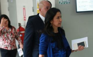"""Nadine Heredia: """"Es exagerado impedimento de salida del país"""""""