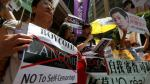 Chinos se manifestaron en Hong Kong contra Lancome - Noticias de mirian lau choleon
