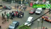 Miraflores: vecinos piden semáforos ante constantes accidentes