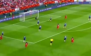 Cristiano Ronaldo calienta para la Euro: marcó golazo a Estonia