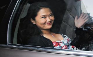 """Keiko Fujimori: """"Esperamos con paciencia"""" resultados de la ONPE"""