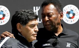 """Maradona a Pelé: """"Messi no tiene personalidad para ser líder"""""""