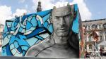 Eurocopa 2016: increíbles murales de cracks se exhiben en París - Noticias de andrés iniesta