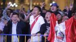 Plaza de Armas: así alentaron hinchas a la selección peruana - Noticias de hospital de la solidaridad