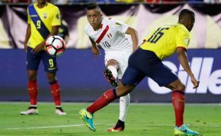 """Cueva luego del 2-2 ante Ecuador: """"No hay nada que reprochar"""""""