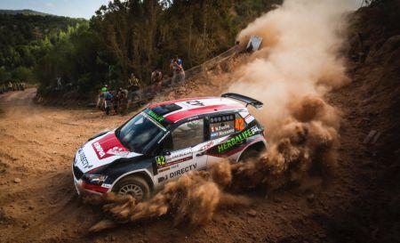 Nicolás Fuchs se ubica segundo en el campeonato del WRC2. (Fotos: @World)