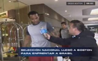 Selección peruana arribó a Boston para el duelo ante Brasil