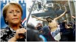 Bachelet condena ataque a iglesia durante protesta estudiantil - Noticias de ricardo ezzati