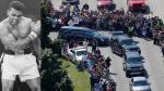 Muhammad Ali: Así fue el funeral del histórico boxeador [VIDEO] - Noticias de cassius clay