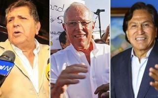 PPK fue saludado por Alan García y Alejandro Toledo