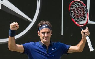 Roger Federer: el suizo avanza a semifinales en Stuttgart