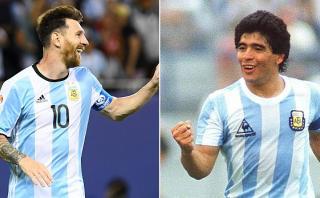 Lionel Messi y sus cinco diferencias con Diego Maradona