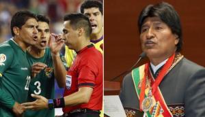 """Evo Morales sobre el Bolivia vs. Chile: """"Nos robaron el empate"""""""