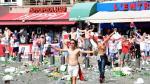 """""""Hooligans"""" causaron disturbios antes del Inglaterra-Rusia - Noticias de día mundial del agua"""