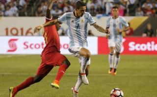 Di María se desgarró y podría quedar fuera de la Copa América
