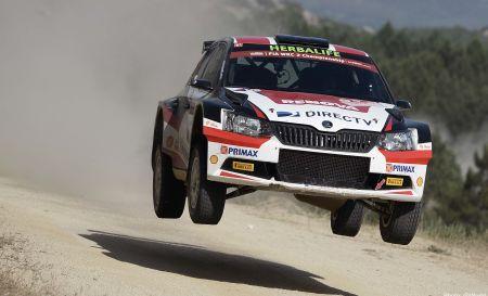 Fuchs podría tomar la punta del WRC2 al final del Rally Italia. (Foto: @World)