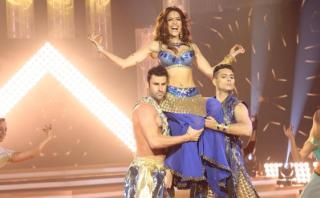 """""""El gran show"""": revive baile estilo Bollywood de Milett [VIDEO]"""