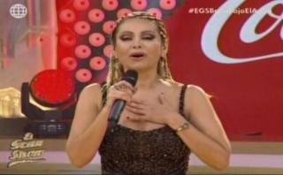 """""""El gran show"""": peinado de Gisela fue sensación en las redes"""