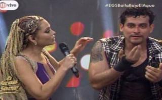 """El gran show"": Christian Domínguez se rompió la nariz en vivo"