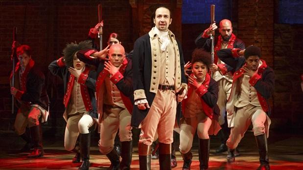 """La obra favorita de esta edición de los premios Tony es """"Hamilton"""", musical que cuenta con 16 nominaciones, un récord absoluto. (Foto: AFP)"""