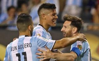 Messi: la anécdota de Marcos Rojo sobre el golazo de Lionel