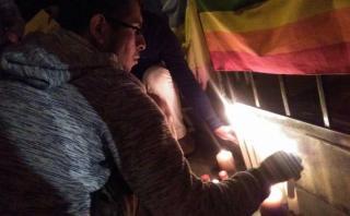 Masacre de Orlando: realizaron plantón solidario en Surco