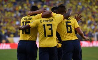 Ecuador goleó 4-0 a Haití y está en cuartos de final