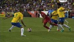 Perú vs. Brasil: ¿fue penal a Flores a favor de la selección?
