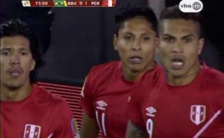 Brasil vs. Perú: polémico gol de Raúl Ruidíaz nos clasificó