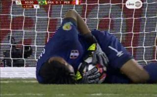 Perú vs. Brasil: Gallese fue héroe en los últimos minutos