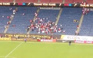 Así celebraron los hinchas peruanos un triunfo esperado 41 años