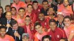 Selección peruana celebró el triunfo ante Brasil con esta foto - Noticias de jugadoras de voley