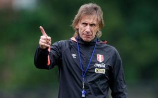 """Ricardo Gareca: """"Reitero que creo en el jugador peruano"""""""