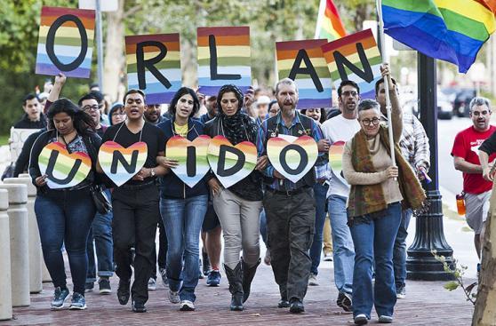 Solidaridad mundial tras la matanza de Orlando