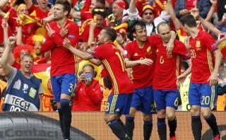 España ganó 1-0 a República Checa en su debut en Eurocopa 2016
