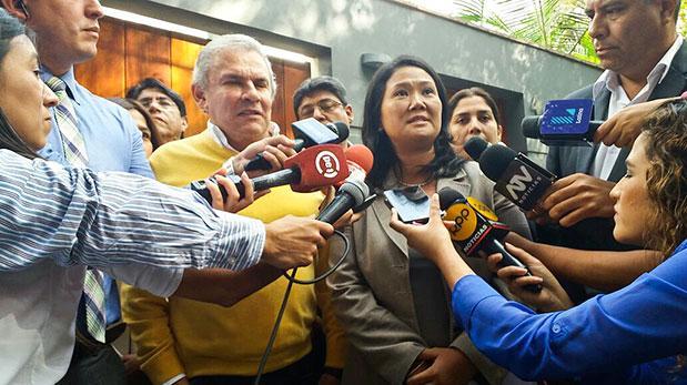 JEE decidió no sancionar a Castañeda por apoyo a Keiko Fujimori