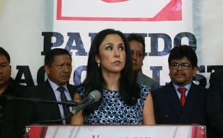Nadine Heredia: el jueves definen si puede o no salir del país