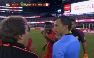 Perú: ¿qué dijo el preparador físico al árbitro Andrés Cunha?