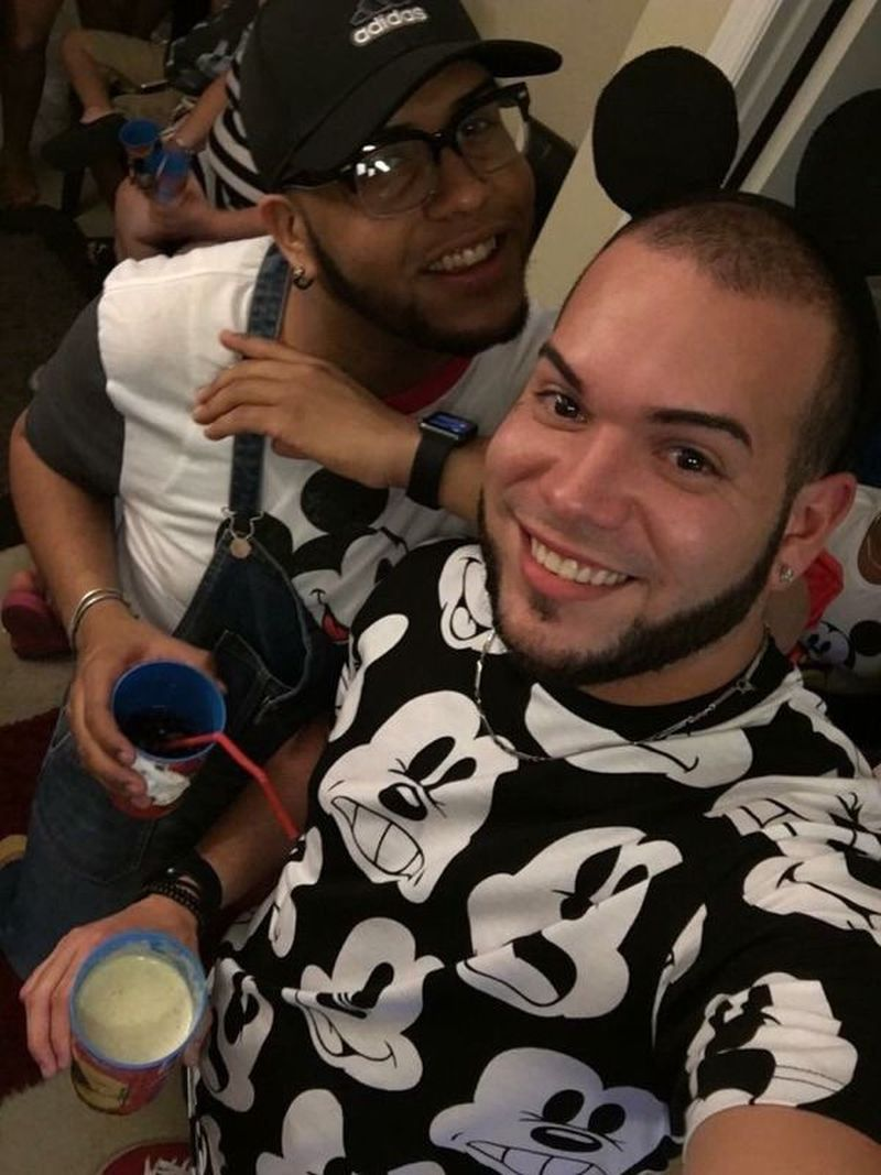 This undated photo shows Peter O. Gonzalez-Cruz, left, and Gilberto Ramon Silva Menendez, killed in the Pulse nightclub in Orlando, Fla., early Sunday, June 12, 2016. A gunman wielding an assault-type rifle and a handgun opened fire inside the nightclub, killing dozens in the worst mass shooting in modern U.S. history. (Courtesy of Sonia Cruz via AP)