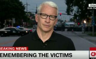 Orlando: Anderson Cooper se quiebra a leer nombres de víctimas