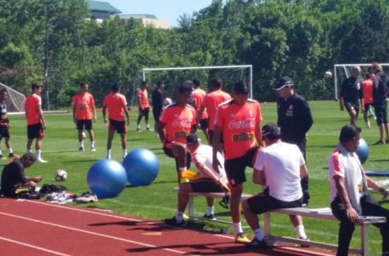Selección: comienza la preparación para partido ante Colombia