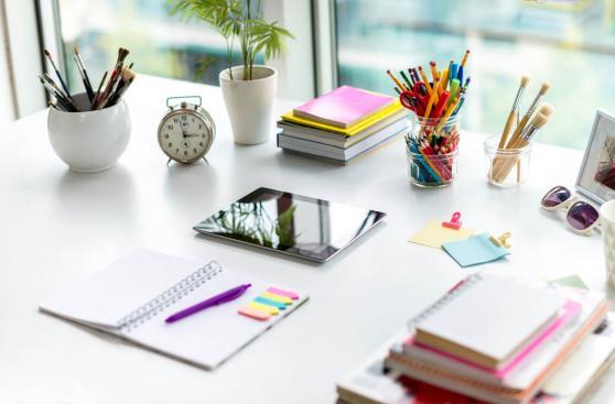 Ideas para la decoracin de escritorios ConstruArte CA