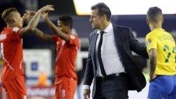 Dunga dejó de ser técnico de Brasil tras ser eliminado por Perú