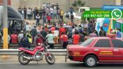 Camión provocó aparatoso choque en la Panamericana Sur