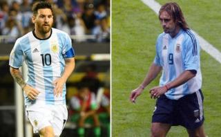 Messi y Batistuta: todos sus goles con la selección argentina
