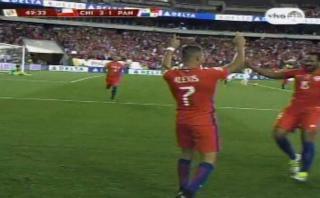 Alexis Sánchez anotó dos golazos ante Panamá en Copa América