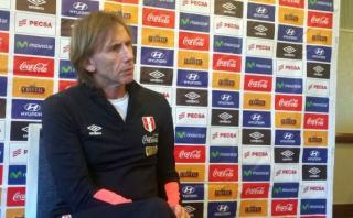 "Ricardo Gareca: ""Lo de Dunga ha sido increíble"""