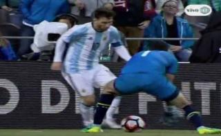 Lionel Messi y una huacha fabulosa que fue invalidada [VIDEO]